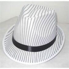 Cappelli e copricapi raso per carnevale e teatro, tema gangster