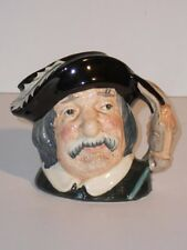 "1956 ROYAL DOULTON PORCELAIN - MEDIUM 4"" SANCHO PANCA TOBY MUG D6461 - PERFECT!"