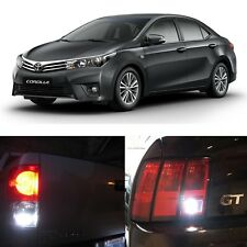 2003-2015 Toyota Corolla Reverse Backup Back up LED Light Bulbs 921 T10 906 9...
