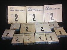 LOT of 13 Boxes Whatman Filters, Qualitative 2, 100 Circles per box Old Surplus