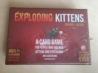 Exploding Kittens Card Game Family-Friendly Party Games Card Games For 7 Upwards