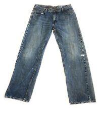 Levi's Sliver Tab Denim Jeans Blue Medium Wash Loose 34 x  32