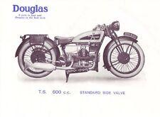 DOUGLAS T6 S6 SE C/31 D/31 E/31 Manual for 600cc Motorcycle Service & Repair
