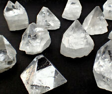 ONE Apophyllite crystal natural point stone from India clear pyramid specimen