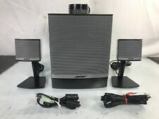 Bose Companion 3 Series II Multimedia Speaker System PC Speaker System With Aux