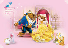 BEAUTY AND THE BEAST POSTER PRINT A4 260GSM