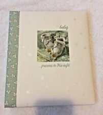 DaySpring Precious In His Sight Baby Memory Book - For Baby's First Year NEW