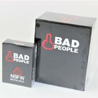 BAD PEOPLE The Adult Party Game PLUS NSFW BRUTAL Expansion Pack