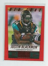 2014 Panini Hot Rookies  JUSTIN BLACKMON   Red Zone  14/20