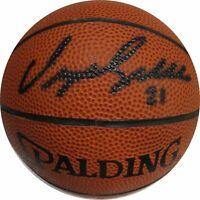 Dominique Wilkins Hand Signed Autographed Mini Basketball Atlanta Hawks Plus COA