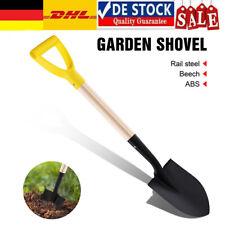 Profi Ergonomic Spitzspaten mit D-Griff stiel Gartenspaten Schaufel 70cm