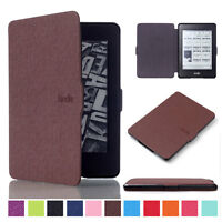 Folio PU Leather Magnetic Case Stand Cover For Amazon Kindle Paperwhite 1 2 3