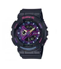 Casio G-shock Baby-g Ba110 Decora Analog Digital Resin Purple Watch Ba110tm-1a