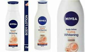 NIVEA Extra Whitening Body Lotion Cell Repair & UV Protect SPF15 (Select Pack)