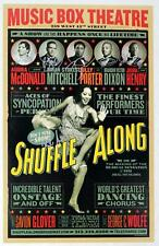 SHUFFLE ALONG Brandon Victor Dixon, Billy Porter, Audra McDonald + Signed Poster