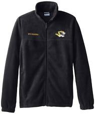 Columbia Missouri Tigers Black Flanker II Zipper Fleece Sweater Mens S