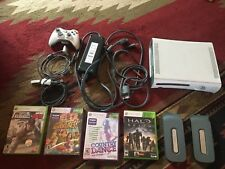 Xbox360 lot 60gb system 1 controller mic 4games halo baseball dance adventures