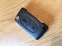 Genuine Peugeot 207 / 307 Remote Key - Cut to Code - Part Number 649075