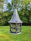 Vintage Storybook Cottage Gothic Tudor hanging Porch Light NOS Look!!! Kichler