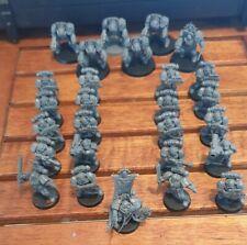 Warhammer 40k Space Marines, Terminator Squad & Captain (assault on black reach)