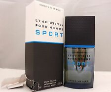 L'EAU D'ISSEY POUR HOMME SPORT BY ISSEY MIYAKE  EDT SPRAY 50 ML/1.6 OZ. (D)