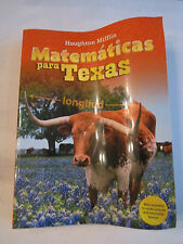 2009 MATEMATICAS PARA TEXAS WORKBOOK - SPANISH VERSION