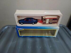 Corgi Ford Sierra And Caravan. 1.43 Scale. From 1983.