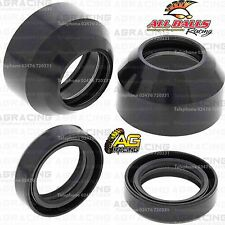 All Balls Fork Oil Seals & Polvo Sellos Kit Para KAWASAKI KX 60 1987 87 Motocross