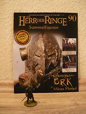 Herr der Ringe-Figur: Schnabelhelm-Ork in Minas Morgul (Nr. 90) + Heft