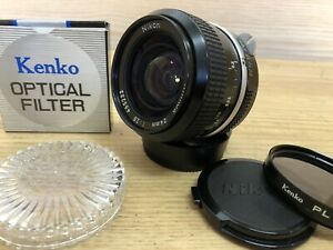*Mint w/ PL Filter* Nikon New Nikkor 24mm F/2.8 Non Ai Wide Angle Lens Japan