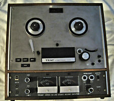 Vintage Teac A-4010S Stereo Reel to Reel Tape Deck Recorder Player