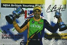 "British Touring car Colin Turkington main signé eBay AUTO-MOTO BMW 12x8"" BTCC AA"