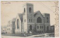 Canada postcard - Winnipeg Church, Manitoba - P/U (A100)