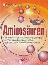 AMINOSÄUREN - Brigitte Hamann BUCH - NEU