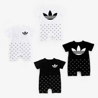 New Baby Toddler Kids Infant Boys Girls Romper Jumpsuit Bodysuit Cotton Clothes