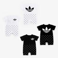 New Baby Newborn Kids Infant Boys Girls Romper Jumpsuit Bodysuit Cotton Clothes