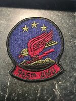 "965th AMU Squadron Rare 70s 80s Patch 3"" USAF Tinker AFB Subdued Cold War Vtg"