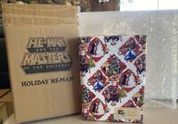 MOTUC MOTU Masters of the Universe Club Grayskull Holiday He-Man WRAPPED Super7