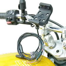 Montaje reforzada con audio/cable de alimentación con M8 Motocicleta De Montaje Para Garmin Montana