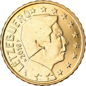 [#792106] Luxembourg, 10 Euro Cent, 2016, SPL, Laiton, KM:New