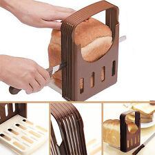 Kitchen Pro Tool Bread Loaf Toast Slicer Cutter Mold Maker Slicing Cutting Guide