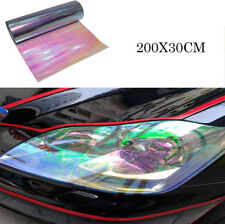 "12"" x 79"" Chameleon Purple Headlight Bumper Hood Paint Protection Film Vinyl Bra"