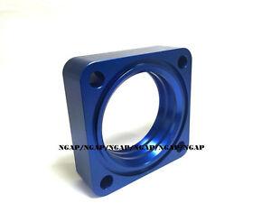 BLUE Billet Aluminum Throttle Body Spacer For 91-94-95-98 NISSAN 240SX 2.4L