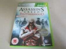X BOX 360 GAME ,ASSASSINS CREED, WITH BOOKLET ,IN VERY GOOD CONDITION