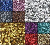 24000 Pailletten Gewölbt im Blister für Kleidung Schmuck 3mm (100g / 10 farben)