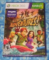 Brand New Sealed Kinect Adventures Microsoft Xbox 360 Video Game Only