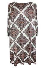 Viscose Knee-Length Tunic Dresses for Women