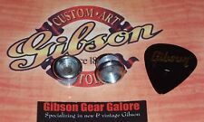 Electric Guitar Strap Buttons Relic Chrome Guitar Parts Locks Custom Gibson Pick