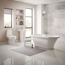 White Round Baths