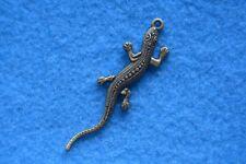 B011 breloque scrapbooking pendentif BRICOLAGE bracelet collier salamandre